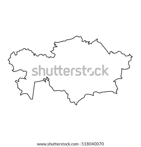 Kazakhstan Map Stock Images, Royalty-Free Images & Vectors ...