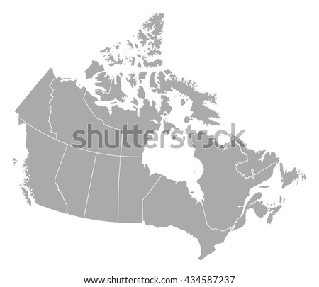Canada map stock images royalty free images vectors shutterstock map canada gumiabroncs Images