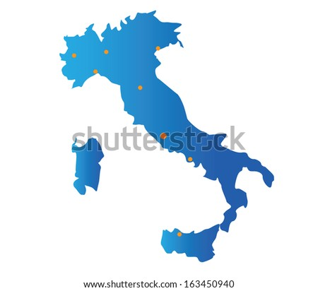 map italy cities