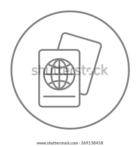 Map line icon. - stock vector