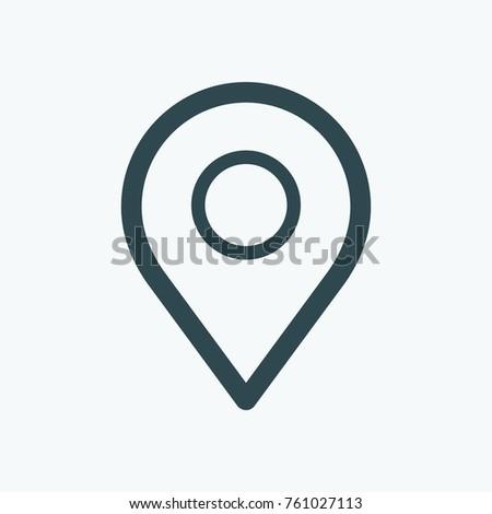 Map maker icon map marker vector stock vector royalty free map maker icon map marker vector icon publicscrutiny Choice Image