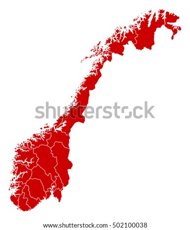 Map - Norway