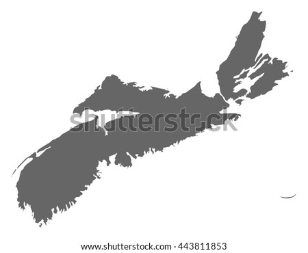 Map - Nova Scotia (Canada)