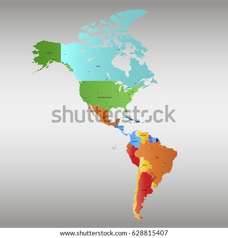 continents map stock images royalty free images vectors