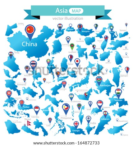 South East Asia Stock Images RoyaltyFree Images Vectors - Asia map countries