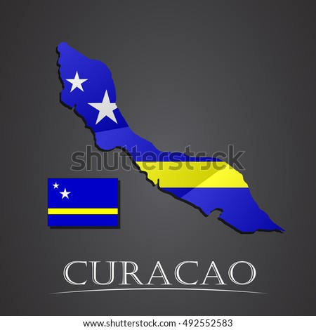 Image result for curacao map