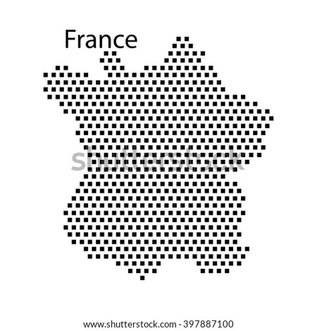 Map Of France Dot