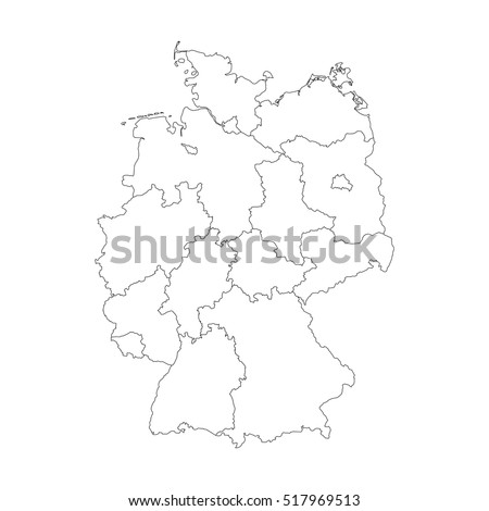 Germany Map Stock Images RoyaltyFree Images Vectors Shutterstock - Germany map drawing