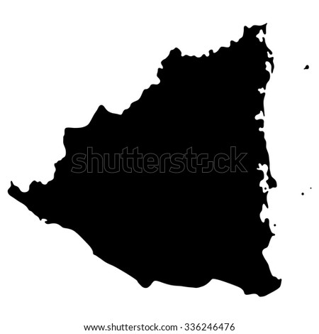 Map Grenada North America Stock Vector 336246476 Shutterstock