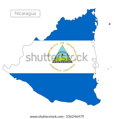 Map Grenada Flag North America Stock Vector 336246479 Shutterstock