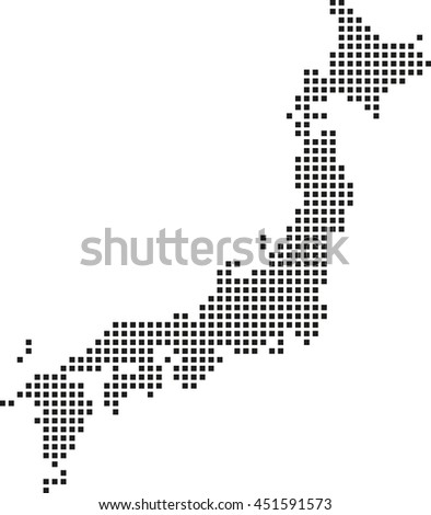 Map Japan Stock Vector Shutterstock - Japan map picture