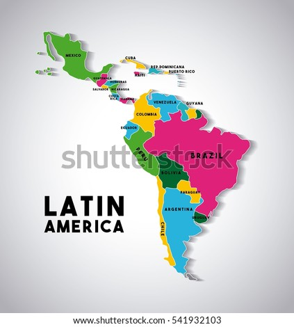 latin america map stock images royalty free images vectors