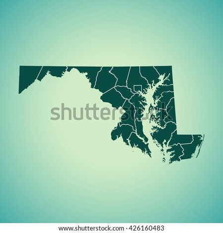 Us County Map Stock Images RoyaltyFree Images Vectors - Maryland us county map