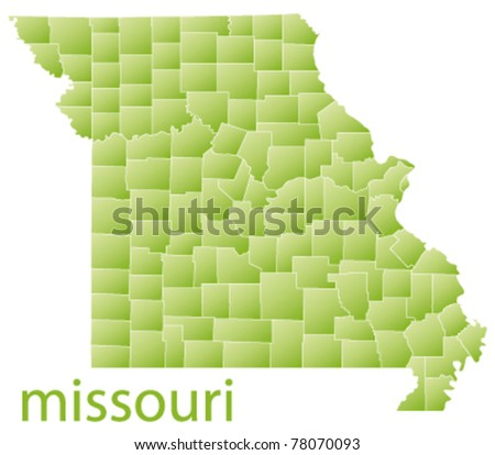 Missouri Map Stock Images RoyaltyFree Images Vectors - Missouri state map usa