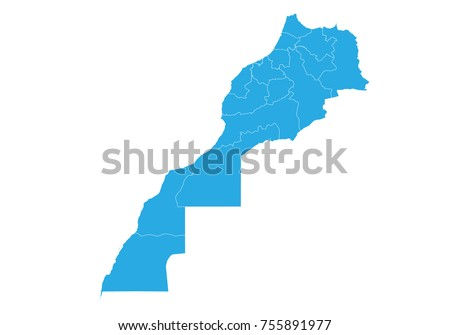 Morocco Map Stock Images RoyaltyFree Images Vectors Shutterstock