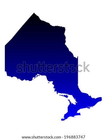 Ontario Map Stock Images RoyaltyFree Images Vectors Shutterstock - Map of ontario