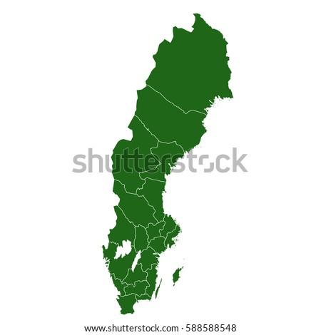 Sweden Stock Images RoyaltyFree Images Vectors Shutterstock - Sweden map clipart
