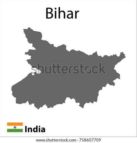 Map indian city bihar vector illustration stock vector royalty free map of the indian city of bihar vector illustration gumiabroncs Image collections