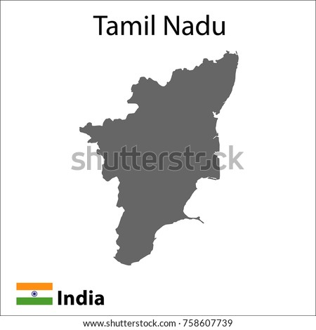 Map indian city tamil nadu vector stock vector hd royalty free map of the indian city of tamil nadu vector illustration gumiabroncs Choice Image