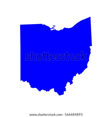 Ohio State Map Stock Images RoyaltyFree Images Vectors - State map of us ohio