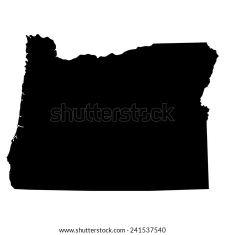 Oregon State Map Stock Images RoyaltyFree Images Vectors - Oregon map us