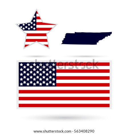 Map Us State Hawaii On White Stock Vector Shutterstock - Us map all white red background