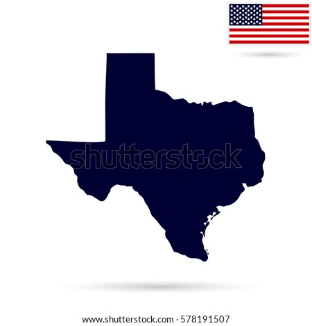 Texas Map Stock Images RoyaltyFree Images Vectors Shutterstock - Texas on us map