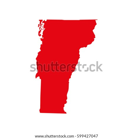Vermont Map Stock Images RoyaltyFree Images Vectors Shutterstock - Vermont in us map
