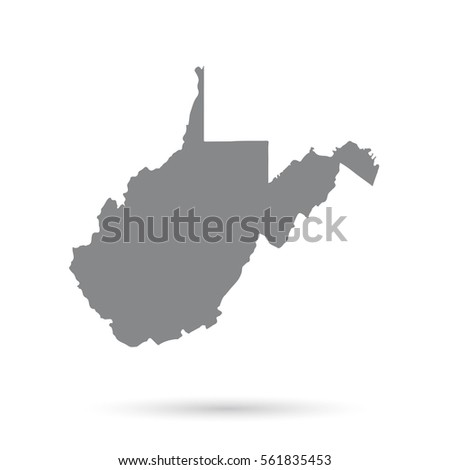 West Virginia Map Stock Images RoyaltyFree Images Vectors - Us map virginia state