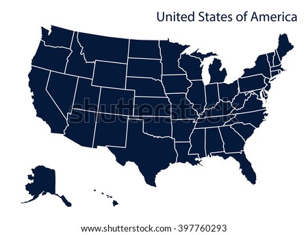 United States Map Stock Images RoyaltyFree Images Vectors - Free usa map vector