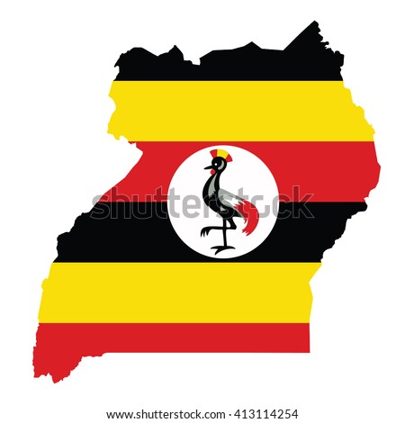 Uganda Ugandan Map Stock Images RoyaltyFree Images Vectors - Map of uganda
