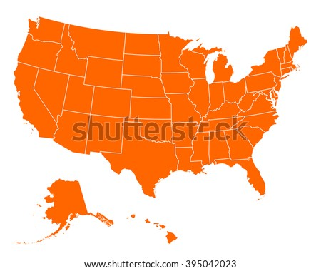 Us Stock Images RoyaltyFree Images Vectors Shutterstock - Clipart us map border security