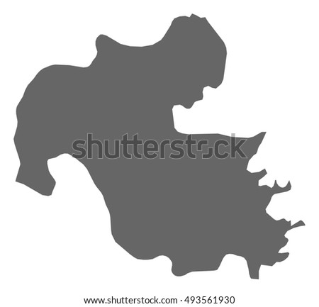 Map Oita Japan Stock Vector HD Royalty Free 493561930 Shutterstock