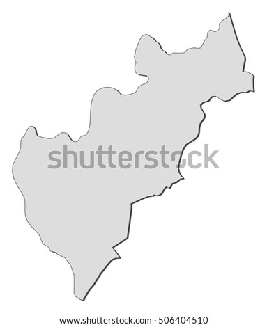 Map Queretaro Mexico Stock Vector 506404510 Shutterstock