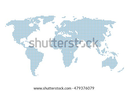 Map world background dots pattern world stock vector 479376079 map world background dots pattern world map competition blue maps template wallpaper soccer gumiabroncs Gallery