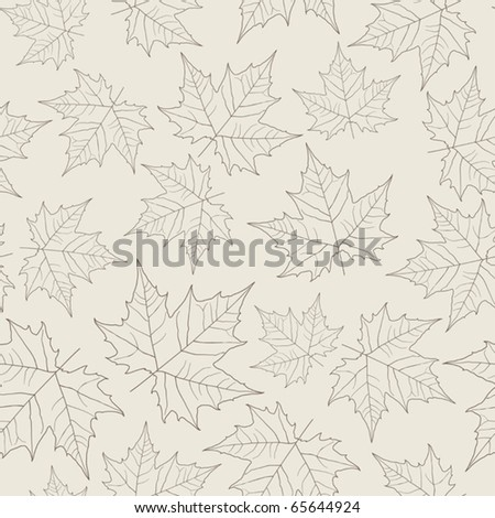 maple leaves seamless