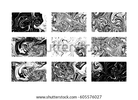 Black Marbled Vector White Stock Images, Royalty-Free ...