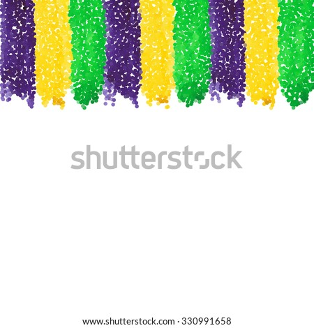 Mardi Gras dot background