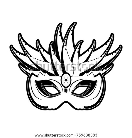 mardi gras mask stock vector royalty free 759638383 shutterstock