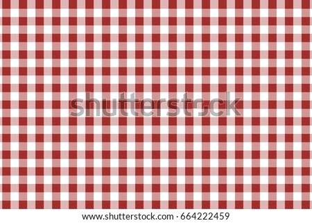 Nice Maroon Gingham Seamless Pattern. Texture From Rhombus/squares For   Plaid,  Tablecloths,