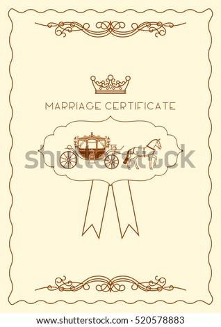 Marriage Certificate Stock Images, Royalty-Free Images & Vectors