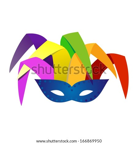 mask  - stock vector