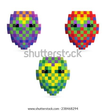 Mask icon vector - stock vector