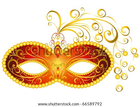 Masks for a masquerade. Vector