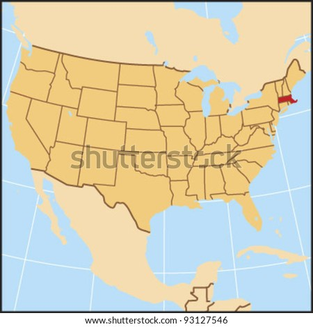 Massachusetts Locate Map