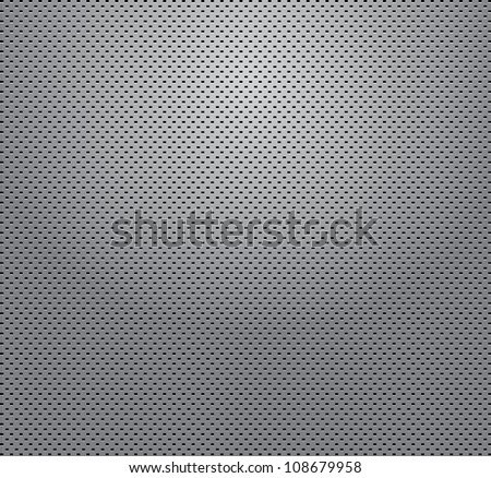 matalic grill background - stock vector