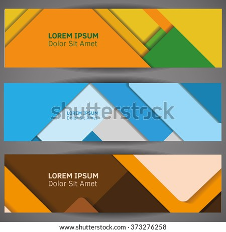 Material design backgrounds. Vector Illustration. Abstaract design template.