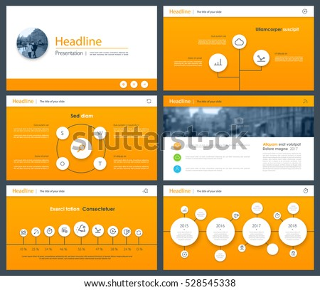 Material elements for infographics on a white background. Presentation templates. Use in presentation, flyer, corporate report, marketing, advertising, annual report