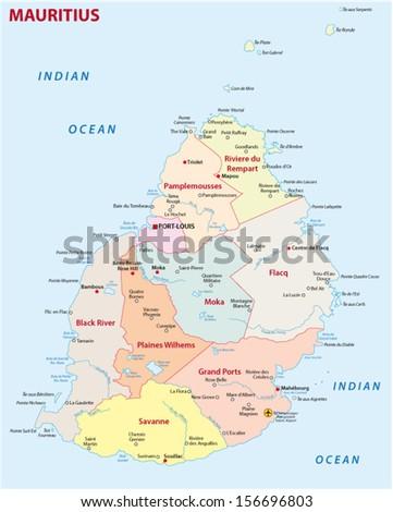 Mauritius Map Stock Images RoyaltyFree Images Vectors - Maurtius map