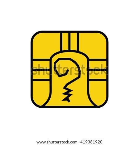 Mayan Calendar Symbol Solar Seal Icon Stock Vector 419381920